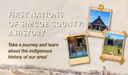 Promotional image for the First Nations of Simcoe County website